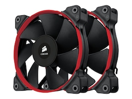 Corsair Air Series SP120 PWM High Performance Edition High Static Pressure Fan Twin Pack, CO-9050014-WW, 16757446, Cooling Systems/Fans