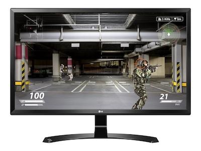 LG 27 MU58-B 4K Ultra HD LED-LCD Monitor, Black, 27MU58-B, 33115402, Monitors