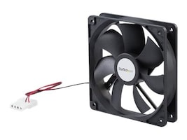 StarTech.com Cooling Fan, 12cm, High-Flow with Ball Bearings, FANBOX12, 169476, Cooling Systems/Fans