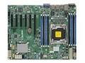 Supermicro Motherboard, ATX C612 LGA 2011 E5-1600 v3 Family Max.512GB DDR4 10xSATA 6xPCIe 2xGbE, MBD-X10SRI-F-O, 17862176, Motherboards