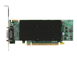 Matrox M9120 Plus LP PCIE X16 Low Profile Quad Upgradeable Dual Head Graphics Card, M9120-E512LPUF, 8786280, Graphics/Video Accelerators
