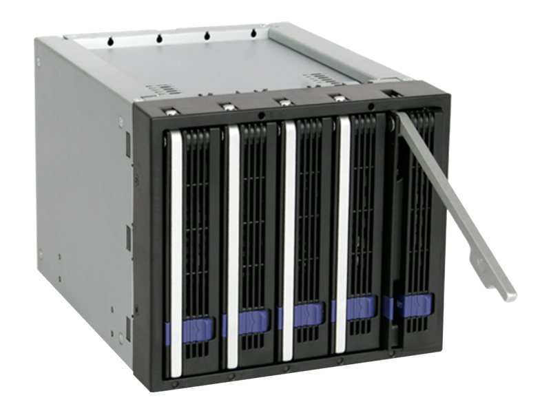 Icy Dock EZ-Tray 5 x 3.5 SATA Hard Drive Cage, MB155SP-B, 16256932, Drive Mounting Hardware