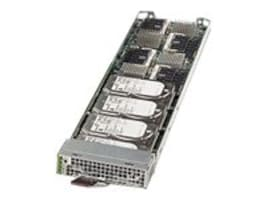Supermicro MicroBlade MBI-6418A-T7H Atom 8C C2750 2.4GHz Max.32GB DDR3 1x2.5 SATA, Black, MBI-6418A-T7H, 17697836, Servers - Blade