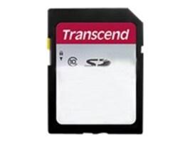 Transcend 4GB SDHC Flash Memory Card, Class 10, TS4GSDC300S, 36278936, Memory - Flash