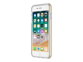 Incipio DualPro Dual Layer Protective Case for iPhone 7 Plus iPhone 8 Plus, Iridescent Champagne, IPH-1491-CHM, 34607775, Carrying Cases - Phones/PDAs