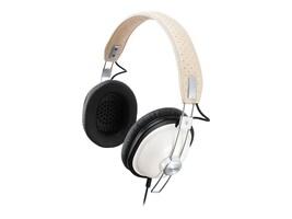 Panasonic Old School Monitor Stereo Headphones, White, RP-HTX7-W1, 8813330, Headphones