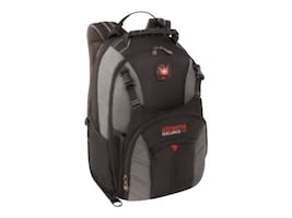 Wenger Sherpa DX Backpack for Up to 16 Laptop, Gray, 28016050, 17051040, Carrying Cases - Notebook