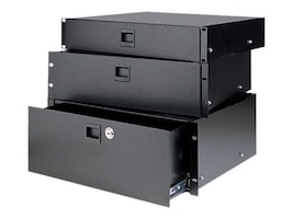 Chief Manufacturing Heavy-Duty Rack Drawer, 2U, Black Anodized, SDR-2A, 17828437, Rack Mount Accessories