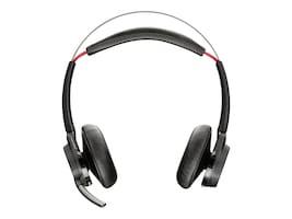 Plantronics Voyager Focus US B825-M Wireless Binaural Headset - Microsoft, 202652-02, 24400981, Headsets (w/ microphone)