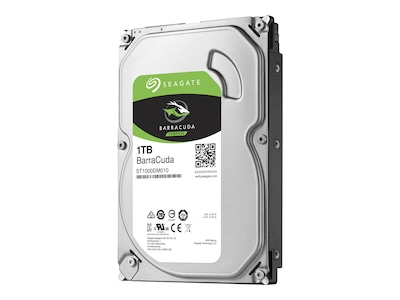 Seagate 1TB Barracuda SATA 6Gb s 3.5 Internal Hard Drive, ST1000DM010, 32620503, Hard Drives - Internal