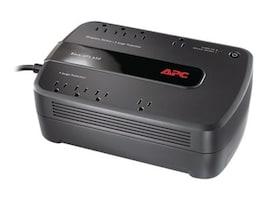 APC Back-UPS 650 650VA 390W 120V NEMA 5-15P Input 5ft Cord (8) 5-15R Outlets, BE650G1, 13115982, Battery Backup/UPS