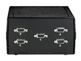 Black Box ABCDE-9 4-1 Switch 5 Female DB-9, SWL031A-FFFFF, 11405901, Switch Boxes