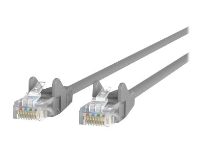 Belkin cat5e patch cable gray snagless 1ft a3l791 01 s belkin cat5e patch cable gray snagless 1ft publicscrutiny Image collections