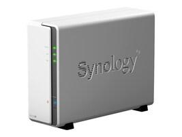 Synology 1-Bay NAS DiskStation DS120J Enclosure - Diskless, DS120J, 37733531, Network Attached Storage