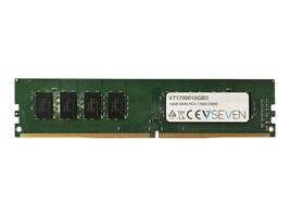 V7 16GB PC4-17000 288-pin DDR4 SDRAM UDIMM, V71700016GBD, 34194085, Memory