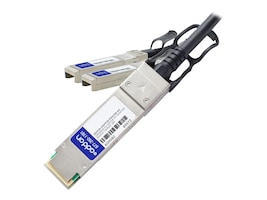 AddOn QSFP28-2QSFP28-PDAC5M-AO Main Image from Left-angle