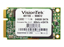 VisionTek 240GB mSATA 6Gb s Async MLC Internal Solid State Drive, 900612, 16311823, Solid State Drives - Internal