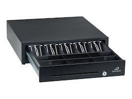 Logic Controls Cash Drawer 16x16x4 RJ Connector Epson, Black, CD-415, 28341827, Cash Drawers