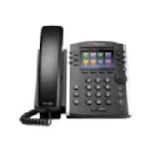 Scratch & Dent Polycom VVX 410 Phone w Skype For Business, GIG-E, POE, 2200-46162-019, 34983762, VoIP Phones