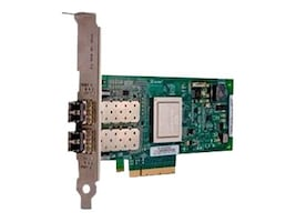 Dell QLogic 2562 Dual Channel 8Gb Optical Fibre Channel Low-Profile HBA, 406-BBEL, 30935190, Host Bus Adapters (HBAs)