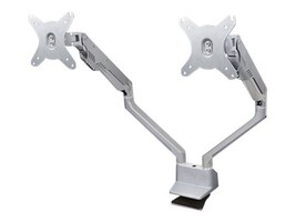 DoubleSight Full Motion Articulating Dual Monitor Arm for Displays up to 27, DS-225XE, 32226602, Stands & Mounts - AV