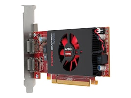 HP AMD FirePro W2100 PCIe 3.0 Graphics Card, 2GB DDR3, J3G91AT, 17951321, Graphics/Video Accelerators