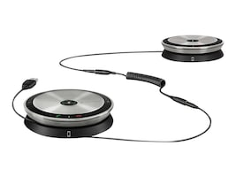 Sennheiser SP 220 MS Portable Dual Wireless Speakerphone, Skype for Business Optimized, 507211, 34238383, Microphones & Accessories