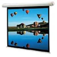 Draper Salara Plug & Play Motorized Projection Screen, Matte White, 4:3, 100, 136008, 6043423, Projector Screens