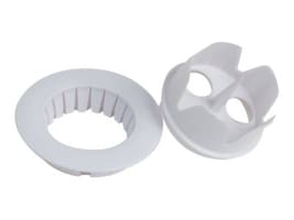 Premier Mounts 2 Ceiling Tile Hole Cutter and Escutcheon Ring, White, HCERW, 33061580, Mounting Hardware - Miscellaneous