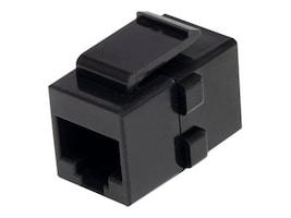 StarTech.com RJ-45 Keystone Jack Coupler, Cat6, F F, Black, C6KEYCOUPLER, 13647840, Cable Accessories