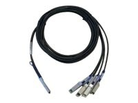 Cisco QSFP-4SFP10G-CU3M= Main Image from Front