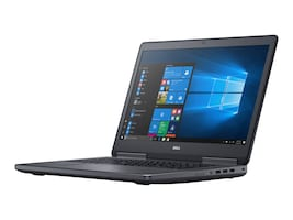 Dell Precision 7720 Core i7-6820HQ 2.7GHz 8GB 500GB ac BT WC WX4130 17.3 FHD W7P64, X08X6, 34663021, Workstations - Mobile