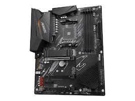 Gigabyte Technology B550 AORUS ELITE Main Image from Right-angle
