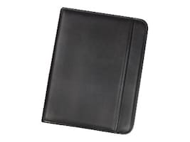 Samsill Padfolio Professional Zipper, Black, 70820, 33798047, Office Supplies