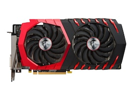 Microstar Radeon RX 480 PCIe 3.0 x16 Graphics Card, 8GB GDDR5, RX 480 GAMING X 8G, 32409311, Graphics/Video Accelerators