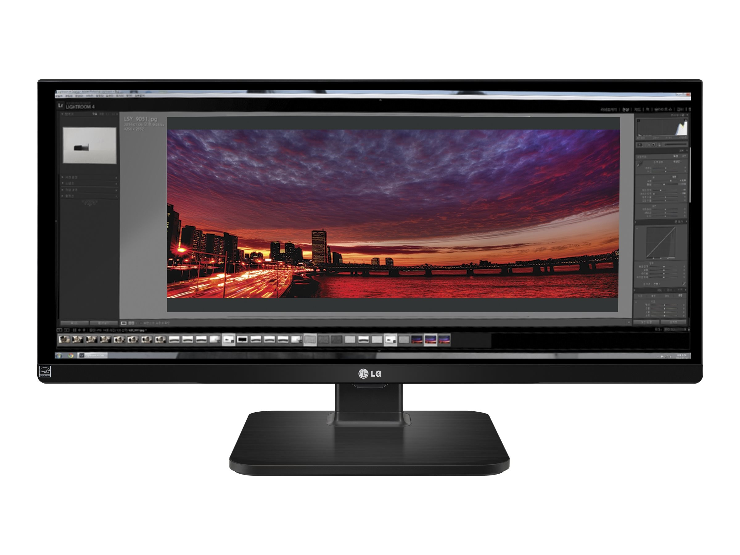 LG 29 UB55-B Full HD LED-LCD Ultrawide Monitor, Black, 29UB55-B, 18158914, Monitors