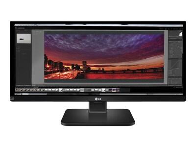 LG 29 UB55-B Full HD LED-LCD Ultrawide Monitor, Black, 29UB55-B, 18158914, Monitors