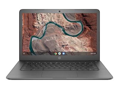 HP Chromebook AMD A4-9120 4GB 32GB 14 Chrome OS Gray, 5VD64UA#ABA, 36607470, Notebooks