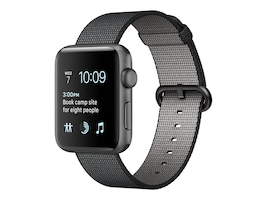 Apple Watch Series 2, 42mm, Space Gray Aluminum Case with Black Woven Nylon Band, MP072LL/A, 32667740, Wearable Technology - Apple