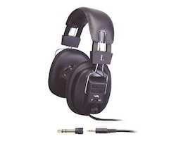 Cyber Acoustics Stereo Headphones with Volume Control, ACM-500RB, 244404, Headphones