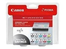 Canon PGI-9 Value Pack (10-color multi-pack for Pixma Pro 9500), 1033B005, 7585259, Ink Cartridges & Ink Refill Kits