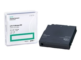 HPE 15TB LTO-7 Ultrium RW Data Cartridge, C7977A, 30982439, Tape Drive Cartridges & Accessories