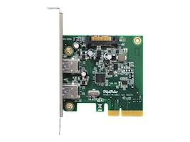 HighPoint 2-Port USB 3.1 PCIe 2.0 HBA, RU1322A, 31624406, Host Bus Adapters (HBAs)