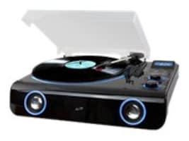 GPX Turntable w  BT Radio & Stereo Speakers, ITTB775B, 33213230, Stereo Components