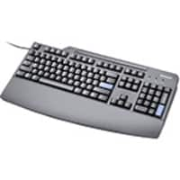 Lenovo Preferred Pro USB Keyboard, Business Black - US English, 73P5220, 6214763, Keyboards & Keypads