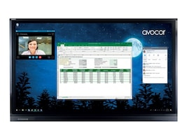 Avocor 86 F50 4K Ultra HD LED-LCD Touchscreen Display, AVF-8650, 37495246, Monitors - Large Format - Touchscreen