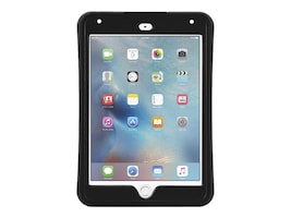 Griffin Survivor Slim Military Duty Anti-Shock Case w  Stand for iPad mini 4, Black, GB41365, 30781434, Carrying Cases - Tablets & eReaders