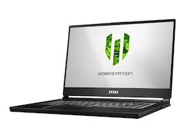 MSI WS65 8SK-476 Core i9-8950HK 2.9GHz 32GB 512GB PCIe ac BT WC P3200 15.6 FHD W10P, WS65476, 36140996, Workstations - Mobile
