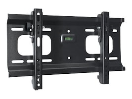 Monoprice Stable Series Ultra-Slim Tilt TV Wall Mount Bracket for 32-55 Displays up to 165 lbs, Black, 5915, 35716931, Stands & Mounts - AV