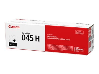 Canon Black 045 High Capacity Toner Cartridge, 1246C001, 33942766, Toner and Imaging Components - OEM